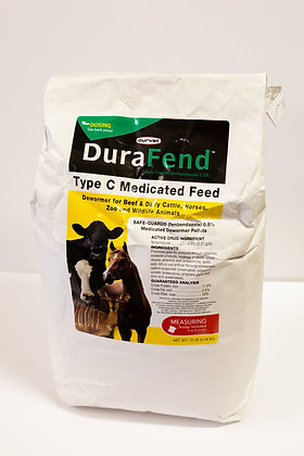 Durafend Type C Medicated Feed, All Species 10lb