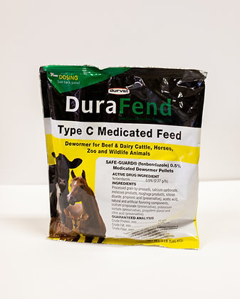 Durafend Type C Medicated Feed (Dewormer)