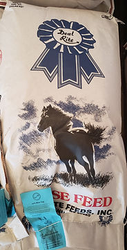 10% n/corn Horse Feed (Blue Tag)