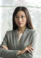Woman in Grey Suit