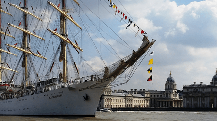 Tall Ships on the Thames – Summer 2018