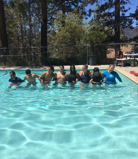 camp pool games