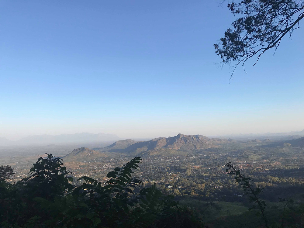 A beautiful view from the plateau, Malawi's second tallest mountain.