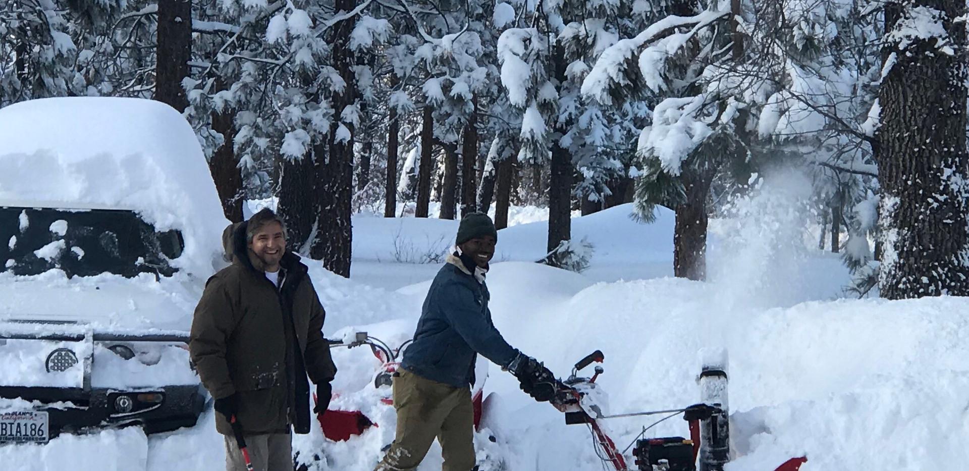 mile high pines snow