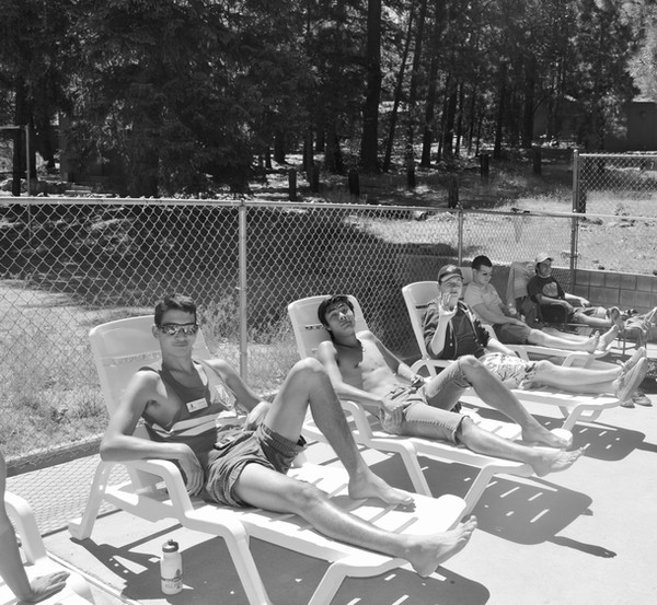 guys by pool