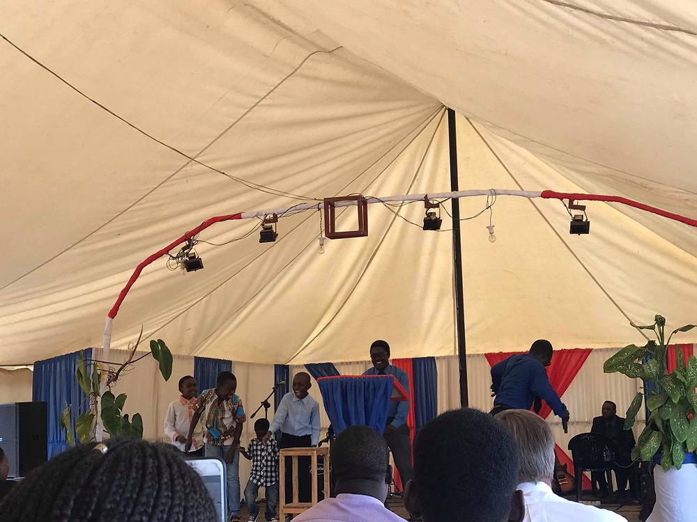 Inside of Mulanguzie church on Sunday morning