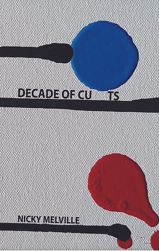 Decade of Cu ts by nicky melville (ISBN: 9781916405158)