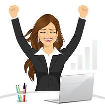attractive-happy-businesswoman-celebrati