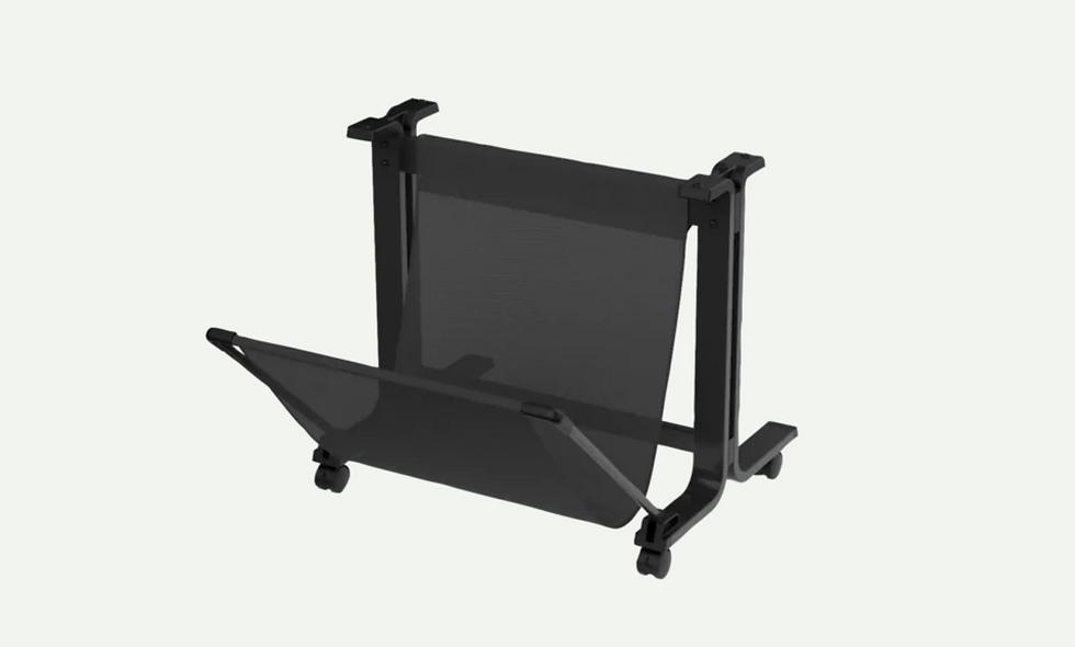 vista lateral derecho HP DesignJet T100/T500 24in Printer Stand / Pedestal