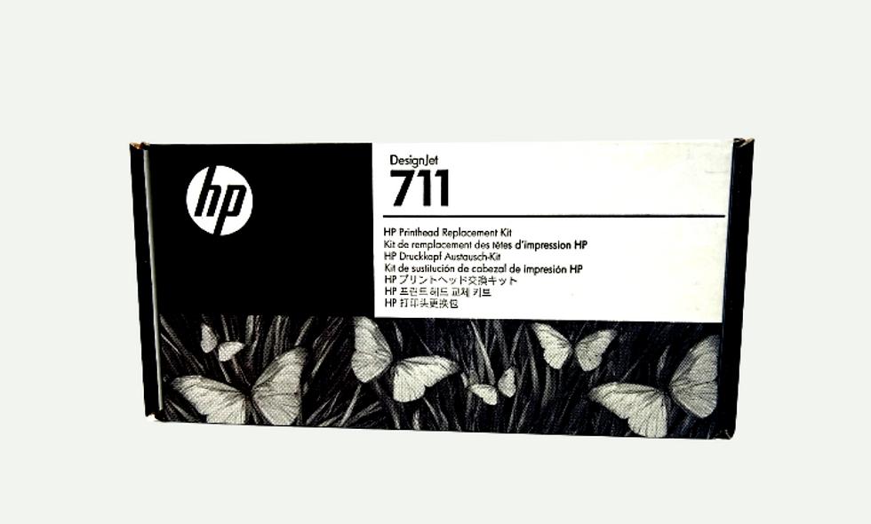 vista frontal Cabezal para equipos Hp DesignjetT120/T520