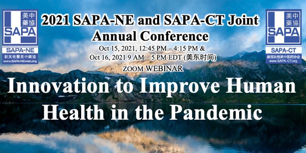2021 SAPA-NE and SAPA-CT Joint Annual Conference