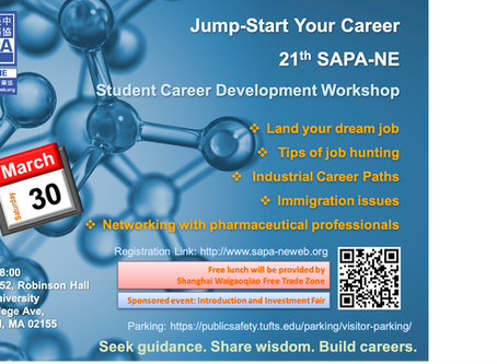 2019-03-30 The 21st SAPA-NE Career Development Workshop