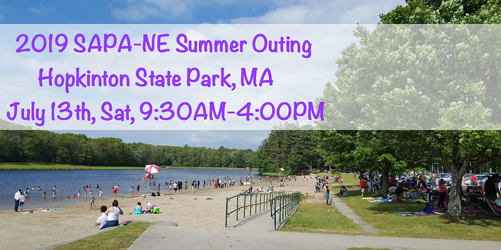 The SAPA-NE Summer Outing (2019)
