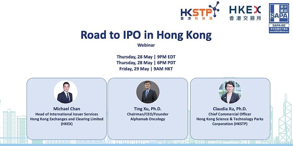 Road to IPO in Hong Kong