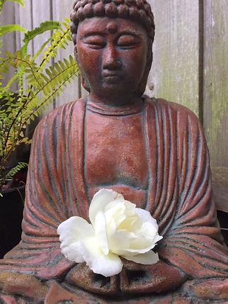 Buddha and white rose.jpg