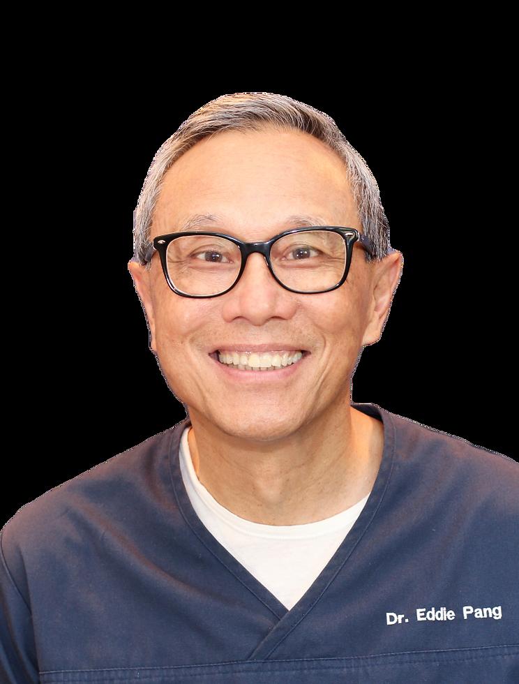 Dentist Dr Eddie Pang