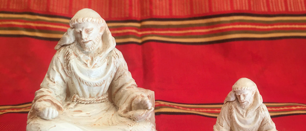 St. Francis Meditating