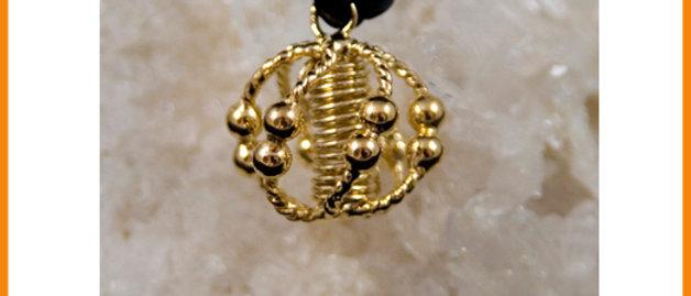 Lemurian Personal Harmonizer Gold Plated