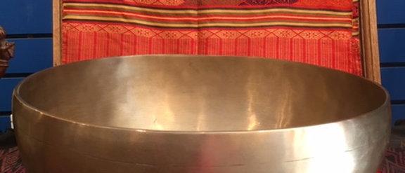 "13"" Tibetan style bowl"