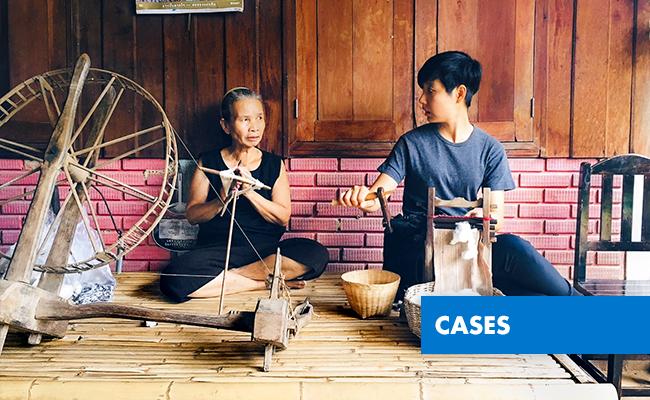 A vila local Baan Pong - Huai Lan ganhou em 2012 autonomia econômica com base em modelo sustentável