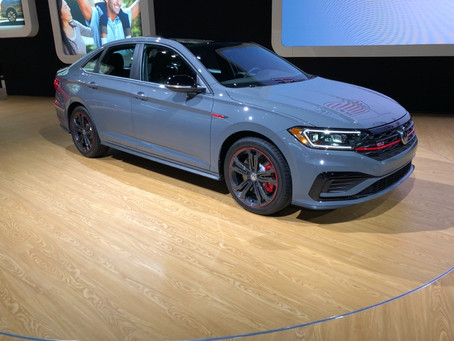 Radiator Grill Store reps were at the Chicago Auto Show Media day preview!