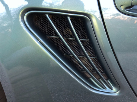 Porsche 987.2 Boxster front and side intake grills are here! Check them out!