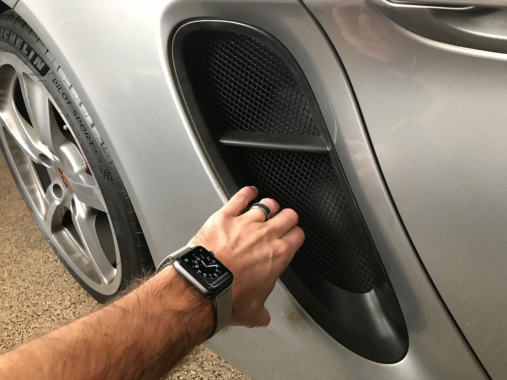 Porsche Boxster and Cayman 981 Radiator Grilles Grills
