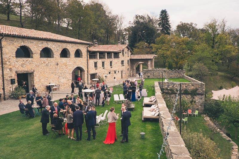 Aperitivo en El Mas Mariner, Xavier & Co Fotógrafo bodas Barcelona