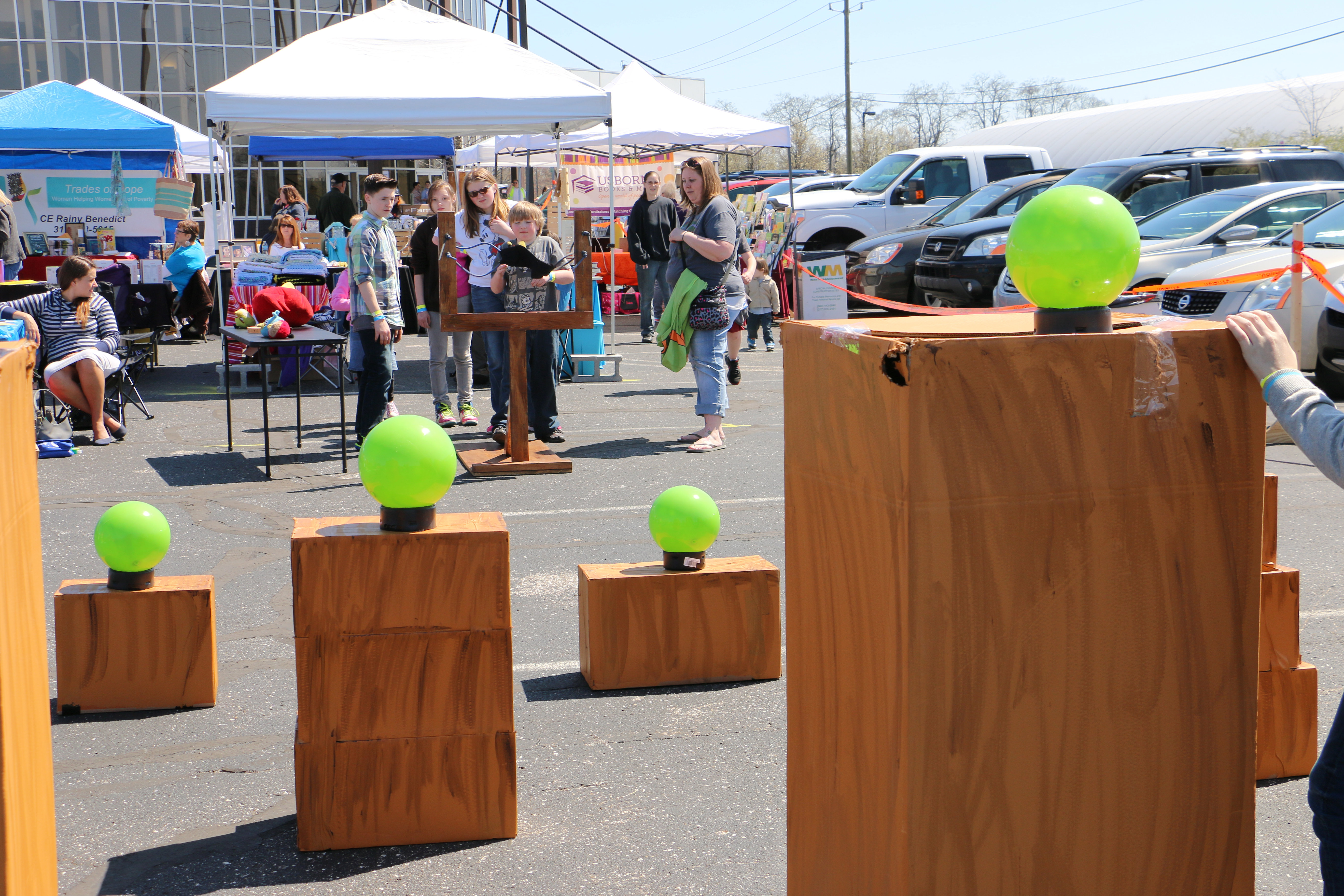 CCS Spring Festival & BBQ Competition | Life Size Angry Birds