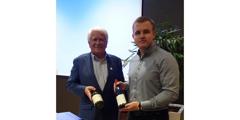 Meie tegevjuht Risto Kaljurand koos Rein Kaselaga LHV seminaril.