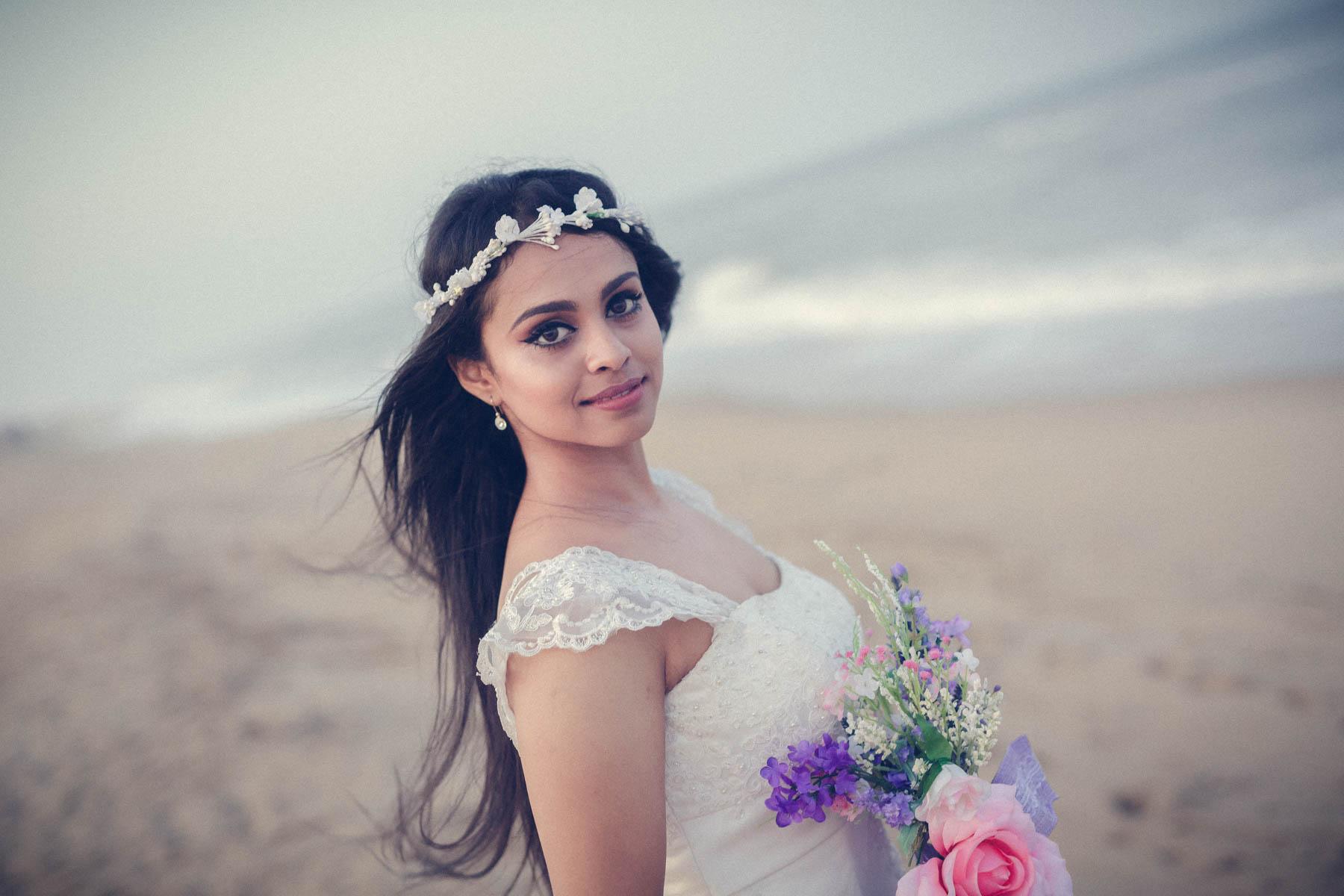 christian bridal portraits