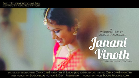 தமிழ் பிராமண திருமணம்   Brahmin Wedding Janani+Vinoth