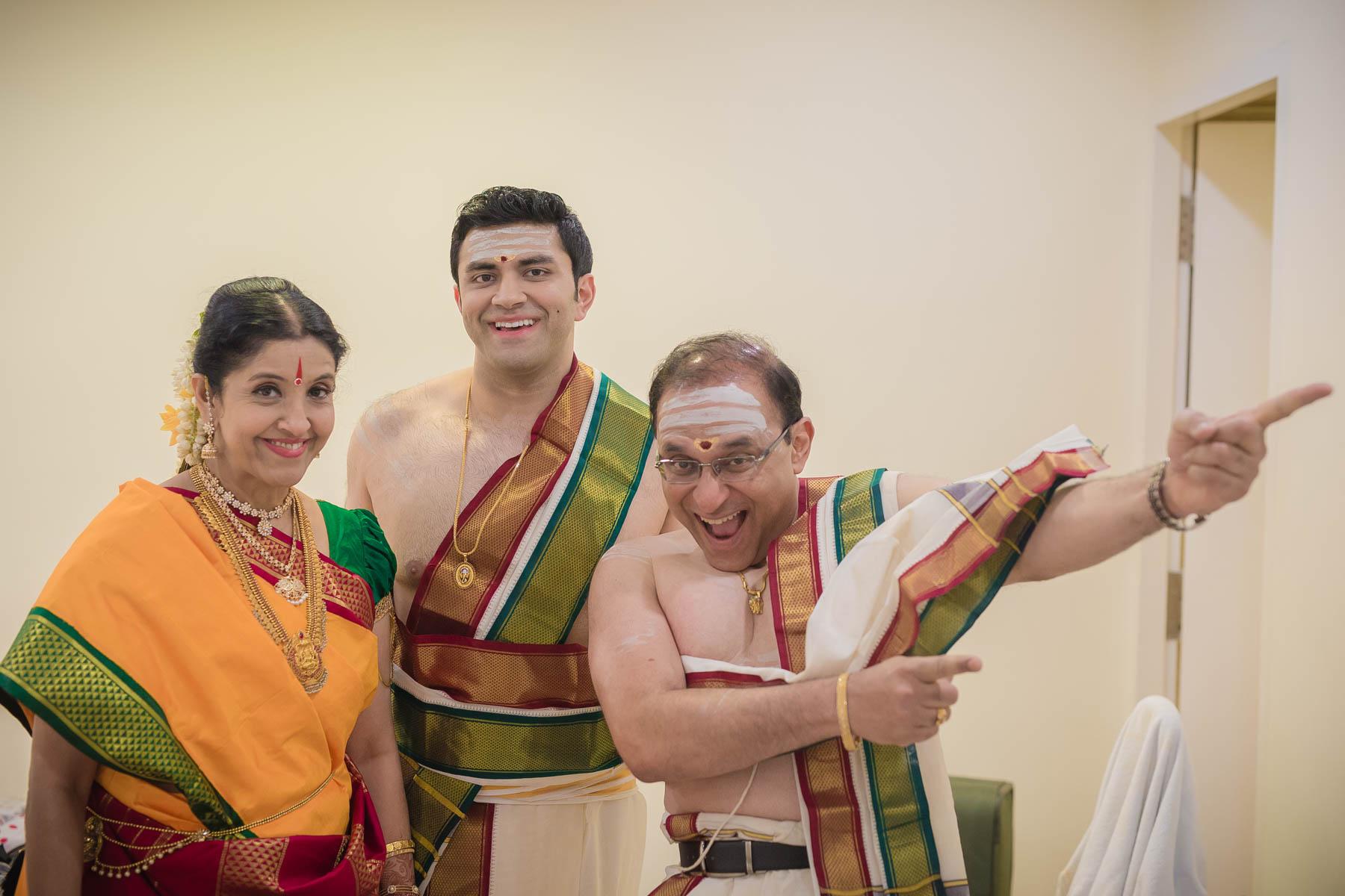 brahmin family wedding