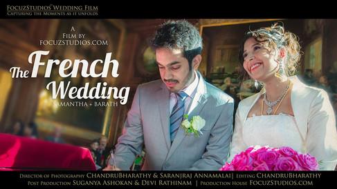French Wedding Film at Paris, France by FocuzStudios.com   SAMANTHA + BARATH