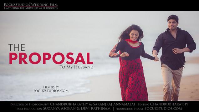 Best LOVE Proposal Ever in Tamil | ISWARYA & PRANESH