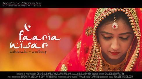 Beautiful Indian Muslim Wedding - Nikkah, Faaria & Nisar   Focuz Studios™