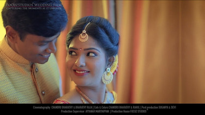 A Beautiful Engagement Ceremony of the Music Lovers | ASHWIN & SINDHU