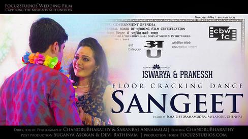 Sangeet   Iswarya & Pranessh   Focuz Studios™