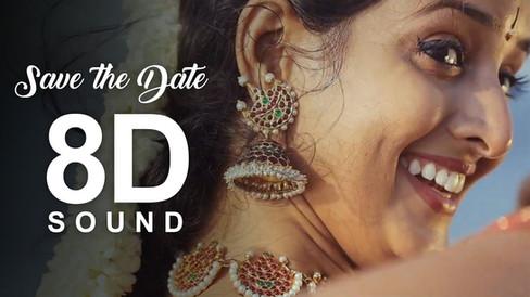 Save The Date   Sujaritha & Siddharth   Asainthadum Mayil - Classical Dance   8D Sound