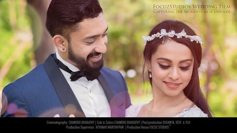 A Fairytale Christian Wedding at Chennai, Tamilnadu   AKSHAYA & ANTON
