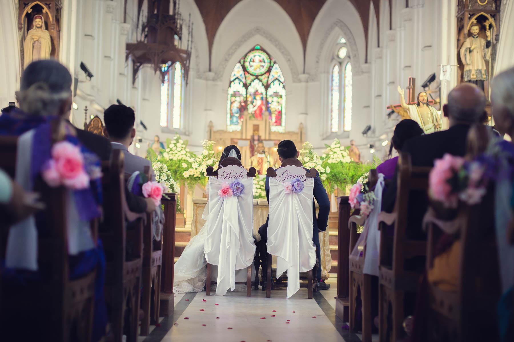 santhom church wedding
