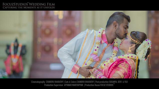 Singapore Tamil Hindu Wedding : Temple Wedding | SHARM & ESTHER