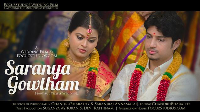 Beautiful Temple Wedding in Salem, Tamilnadu by FocuzStudios.com | SARANYA + GOWTHAM