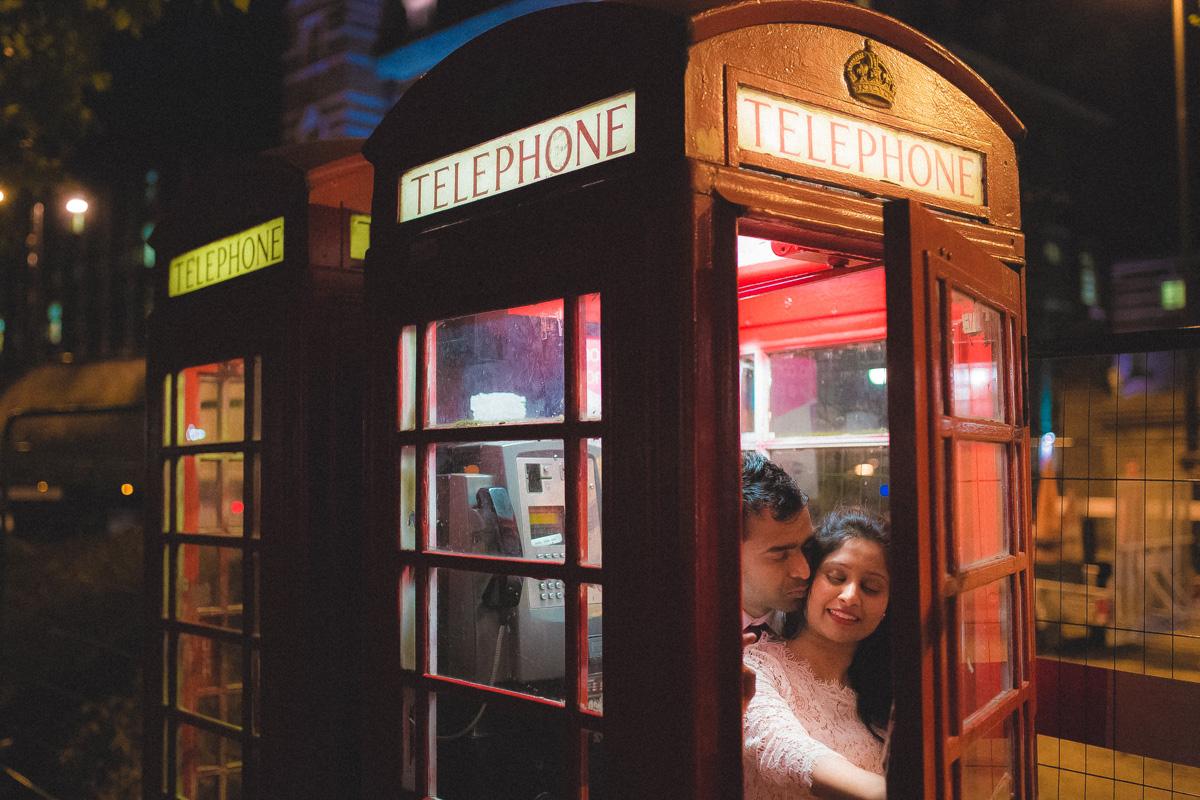 pre wedding shoot london telephone