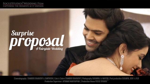 Actor Ganesh Venkatram FLASH MOB Wedding Proposal to Nisha Krishnan