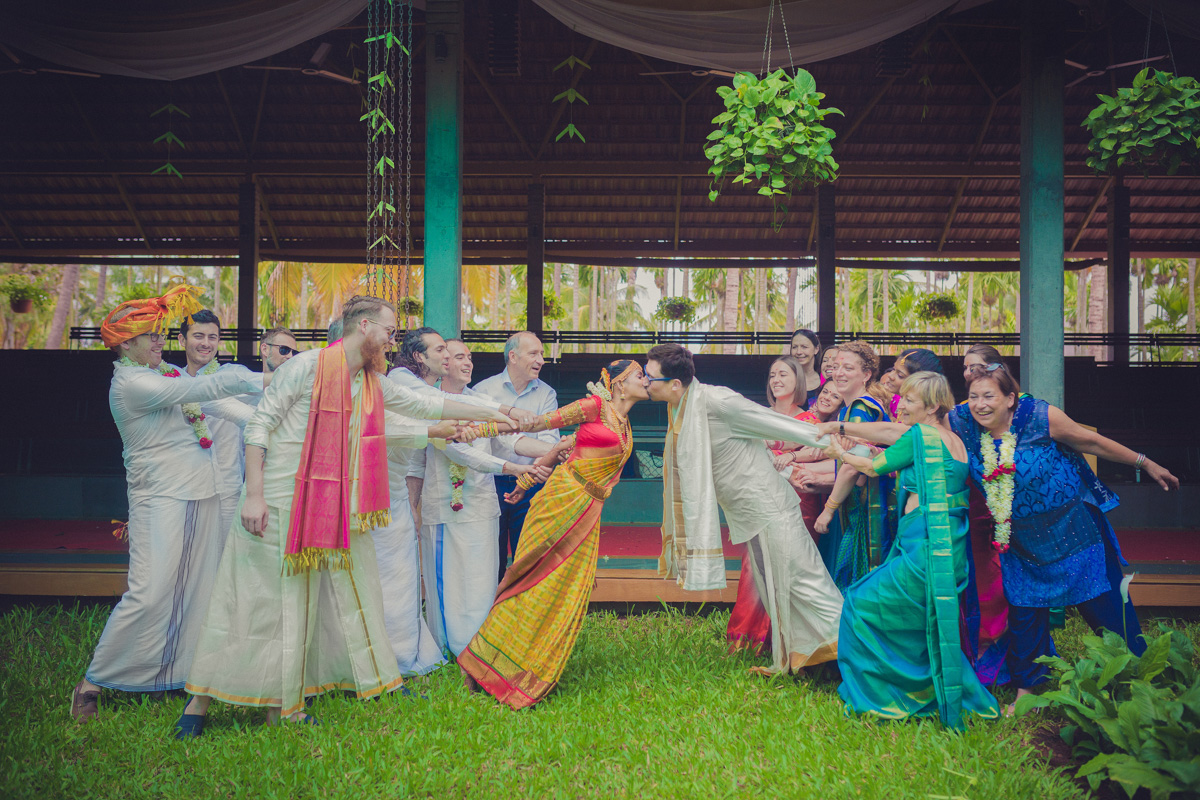 fun wedding photography indian