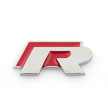 Emblema R-Line (traseira) Vermelho