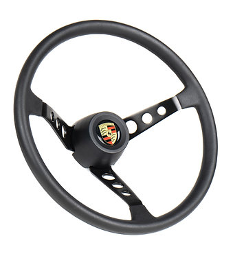 Volante Jay Matt Taladelta Porsche em Couro
