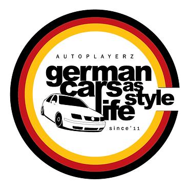 ADESIVO GERMAN CARS