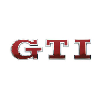 Emblema GTi Traseira